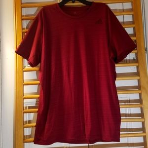 Adidas Men's Large Climalite Shirt L Active Red SS
